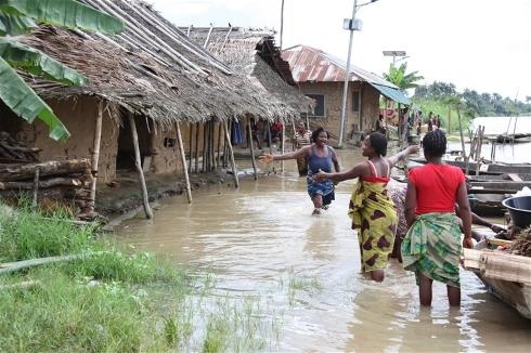 Inondations - Photo SGIE