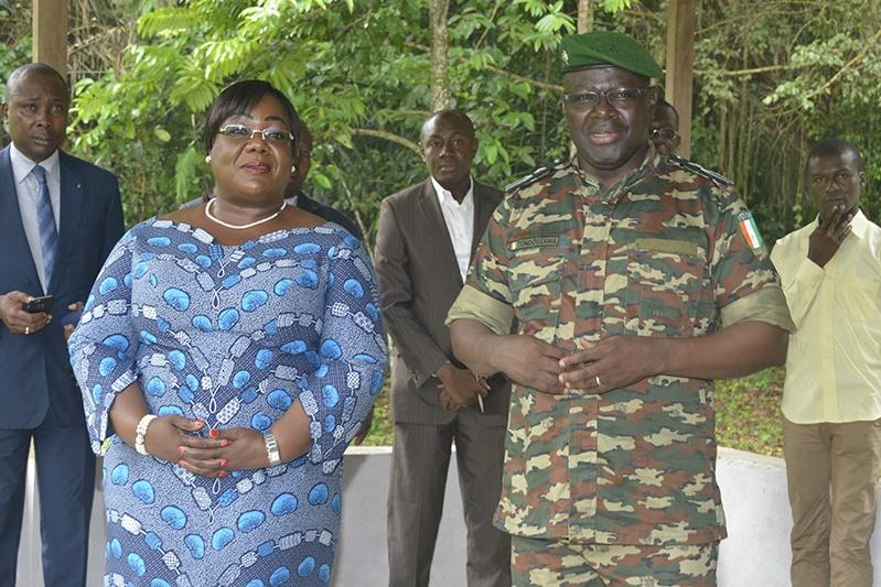 BIODIVERSITÉ: La ministre Anne Ouloto à la réserve de Dahliafleur
