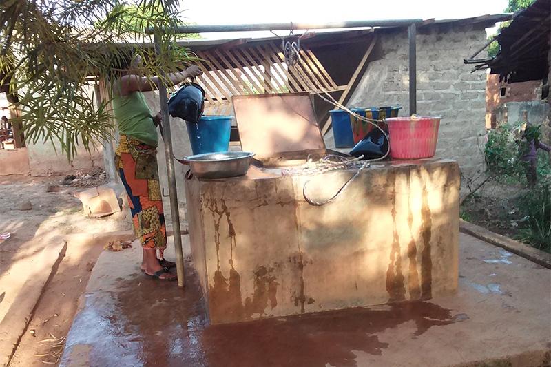 Un Puits à Blenimeouin - Photo Georges KOUASSI/Afrique Green Side