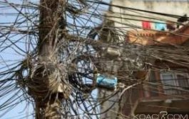 ÉNERGIE: Abidjan et ses branchements anarchiques