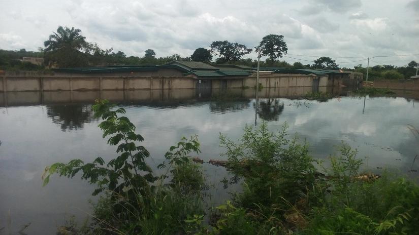INONDATION : La Marahoué déborde et fait des dégâts à Bouaflé