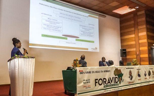 FORAVID 2019 : NDC support programme propose le plan climat comme solution pour des villes durables