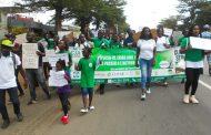 ACTION CLIMATIQUE : La PACJA interpelle les décideurs à travers une marche écologique