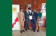 DEVELOPPEMENT DURABLE : Afrique Green Side et AMISTAD remettent le rapport du FORAVID 2019 à l'ambassadeur du Maroc en Côte d'Ivoire