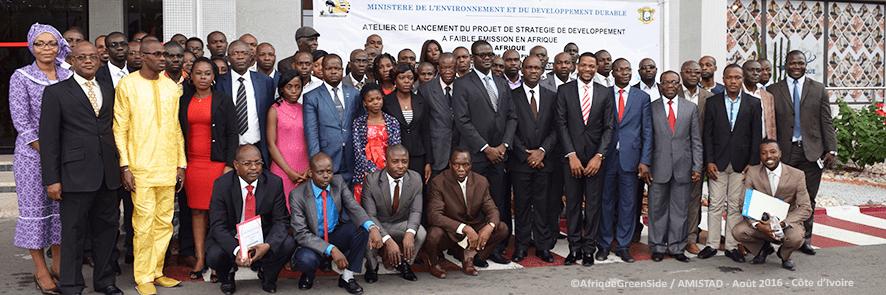 Développement à faible émissions en Afrique, la Côte d'Ivoire s'engage.