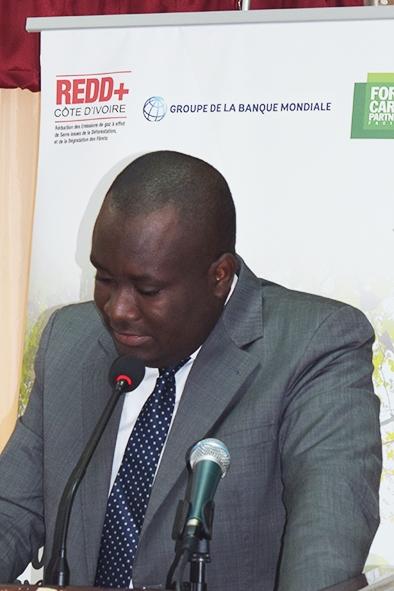 Marcel YAO, Secrétaire Exécutif Permanent de la REDD+ Côte d'Ivoire