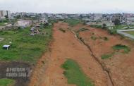 ENVIRONNEMENT : L'érosion, un facteur de dégradation du sol.