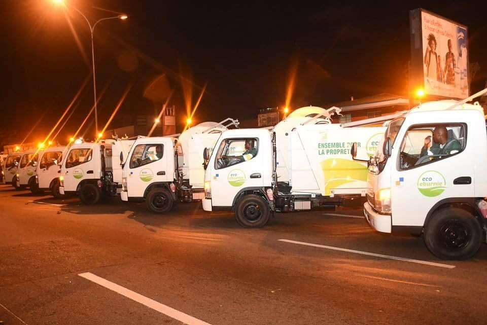 SALUBRITE URBAINE : 450 camions neufs pour  libérer Abidjan des ordures