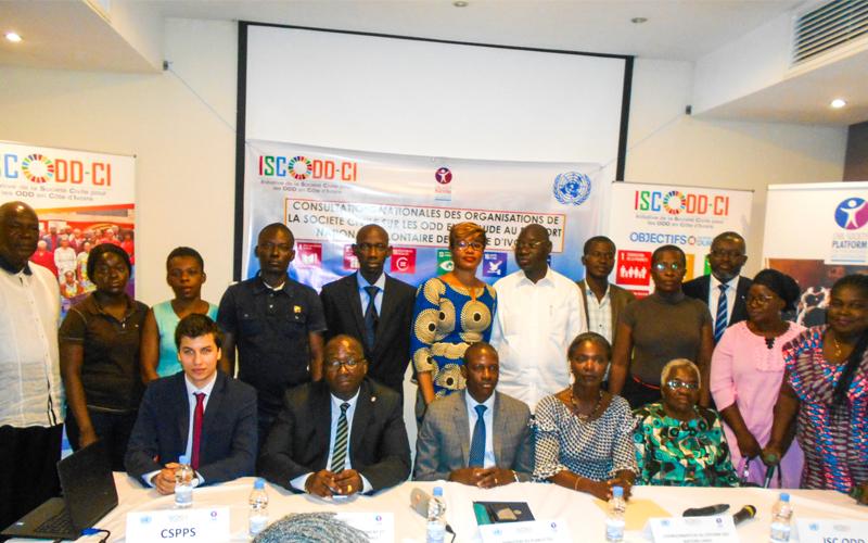 ODD : La société civile ivoirienne s'attèle à enrichir le rapport de la Côte d'Ivoire
