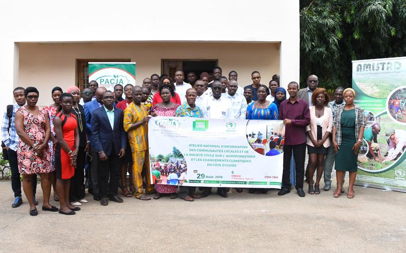 CHANGEMENT CLIMATIQUE: Société civile et communautés locales sensibilisées à l'agroforesterie par l'ONG AMISTAD