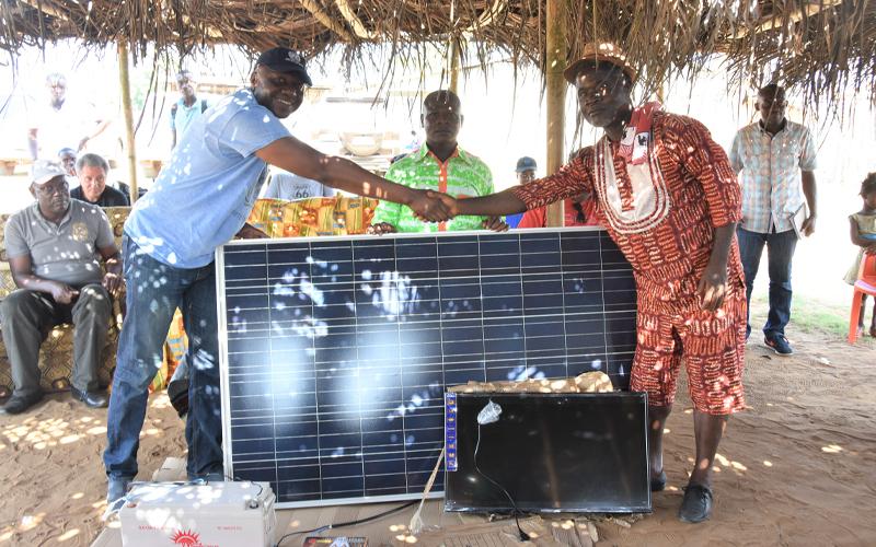 DÉVELOPPEMENT RURAL: La Convention d'Abidjan vole au secours du village de Mani